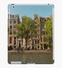 Canal and Canal Houses iPad Case/Skin