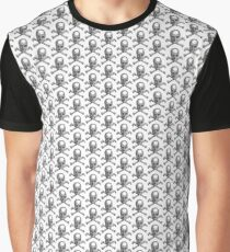 Lilliputian Skull and Crossbones.  Graphic T-Shirt