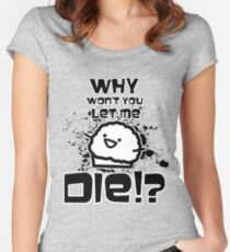 Death Muffin :D Women's Fitted Scoop T-Shirt
