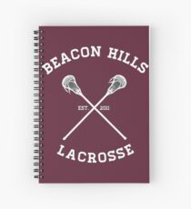 Teen Wolf Lacrosse Spiral Notebook