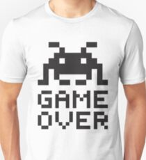 Game over / Pixel art invader Unisex T-Shirt