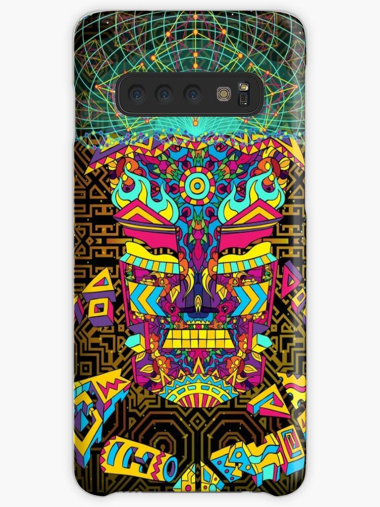 'Golden Teacher Mushroom God' Case/Skin for Samsung Galaxy by Andrei Verner