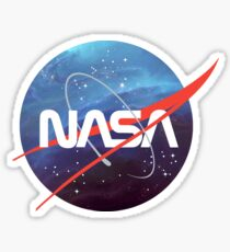 NASA Nebula Meatball Sticker