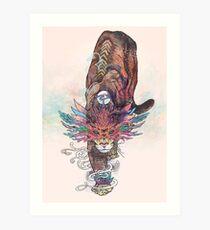 Journeying Spirit (Mountain Lion) Art Print