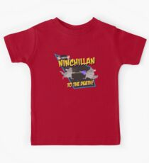 NinChillan - To The Death! Kids Tee
