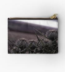 Thistles in The Peak District Studio Pouch