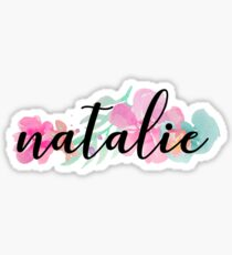 Natalie Sticker