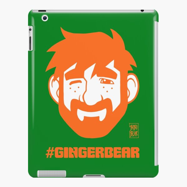 ADAM LIKES GINGER iPad Snap Case