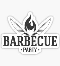 Barbecue party Sticker