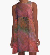 English Autumn Monet A-Line Dress