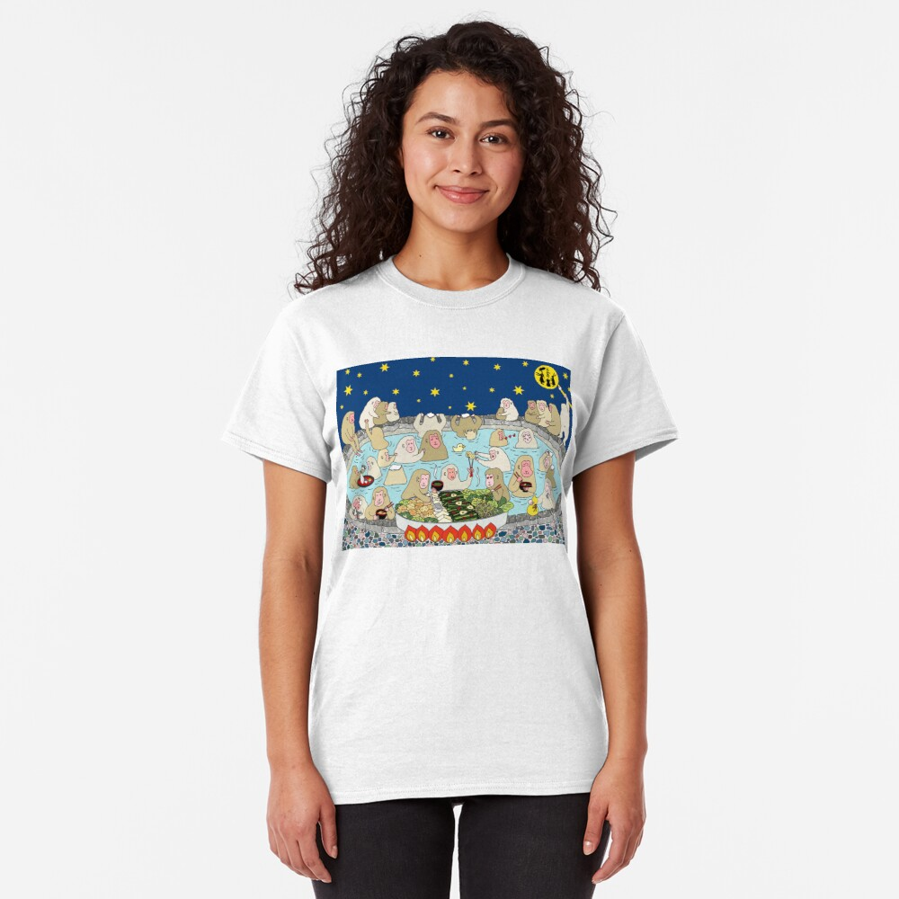 Snow Monkeys in Spa Classic T-Shirt