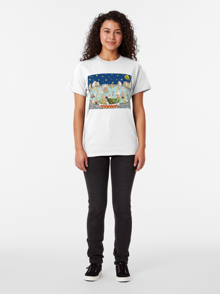 Alternate view of Snow Monkeys in Spa Classic T-Shirt