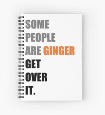 Some People are Ginger (Grey) Spiral Notebook