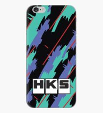 HKS-Retro-Muster iPhone-Hülle & Cover
