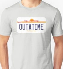 Outatime License Plate T-Shirt