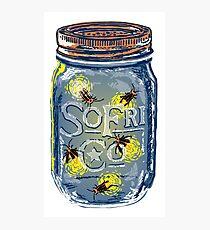 Southern Fried Mason Jar Photographic Print