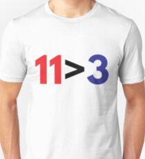 Cardinals vs Cubs (11>3) Unisex T-Shirt