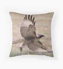 Wild Oregon Hawk  Throw Pillow