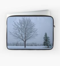 Snow Trees Laptop Sleeve