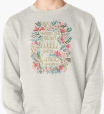 Klein und heftig Sweatshirt