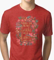 Camiseta de tejido mixto Little & Fierce