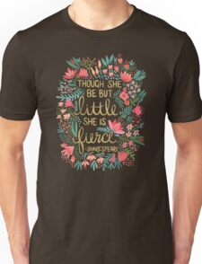 Little & Fierce Unisex T-Shirt