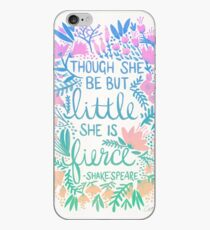 Little & Fierce – Lavender Mint Ombré iPhone Case