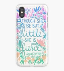 Little & Fierce – Lavender Mint Ombré iPhone Case/Skin