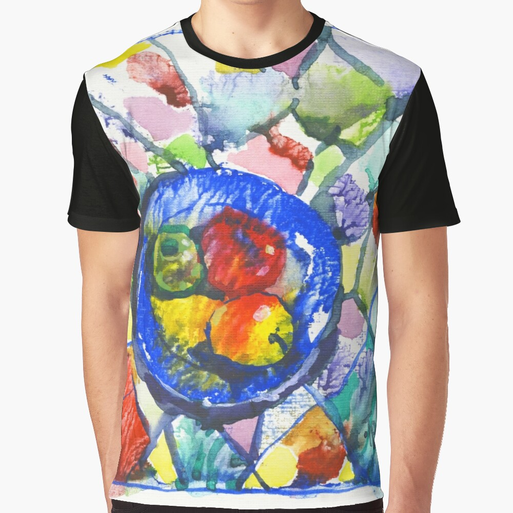 Apples. Watercolor. Graphic T-Shirt