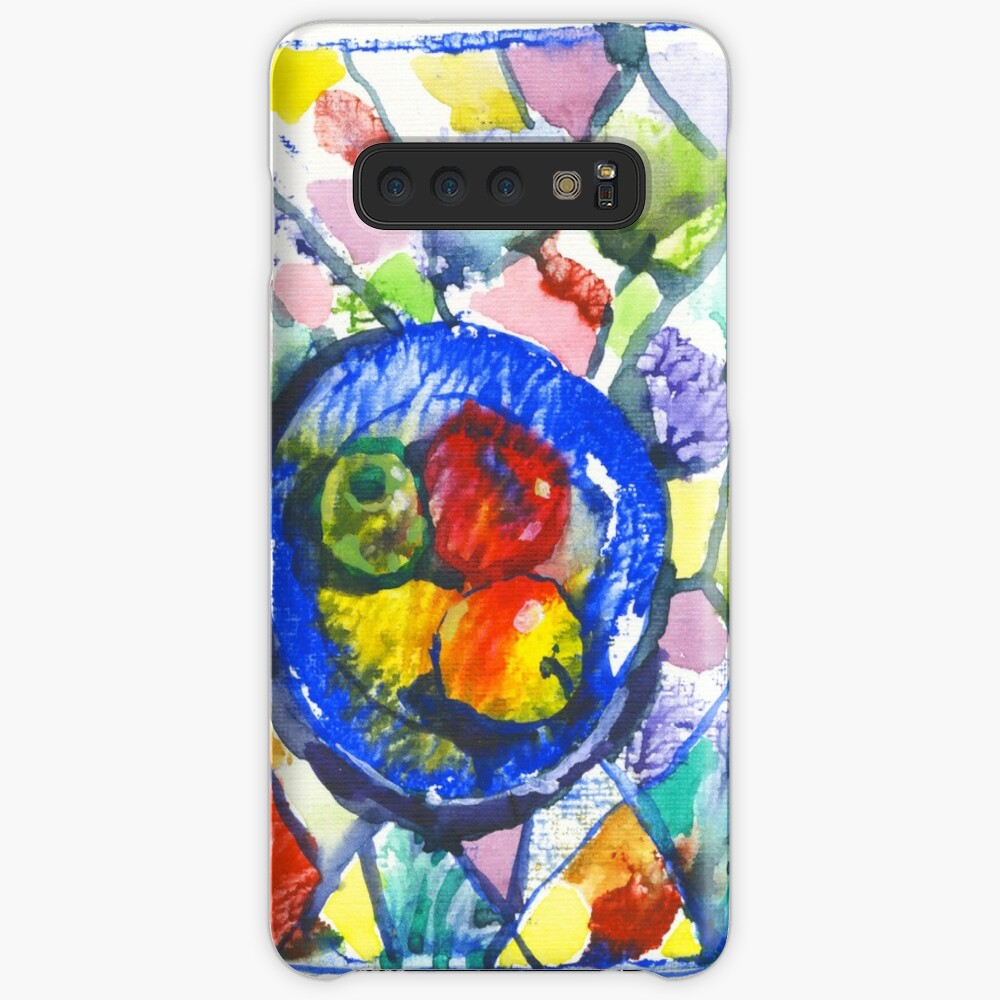 Apples. Watercolor. Case & Skin for Samsung Galaxy