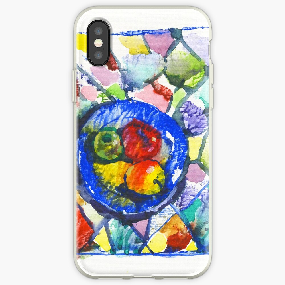 Apples. Watercolor. iPhone Case & Cover