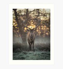 Love you deer lighter print Art Print