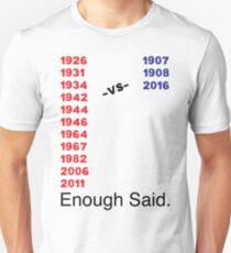 Enough Said (Baseball Edition) Unisex T-Shirt