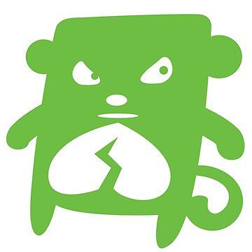 Green Monkey by giantclouds