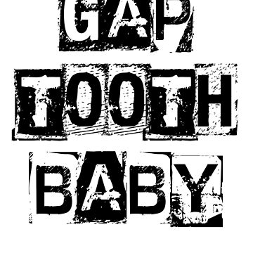 Gap tooth baby by effortless94