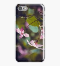 Pink Oxalis Flower iPhone Case/Skin