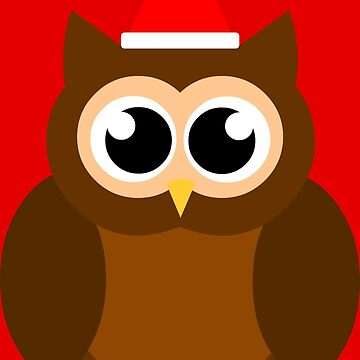 A Very Hooty Christmas (no text) by CrumpetKing