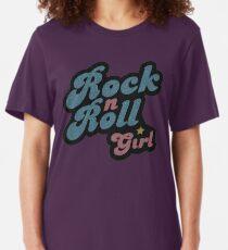 Darla Rock n Roll Girl Slim Fit T-Shirt