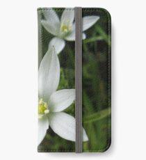 Star of Bethlehem Flower iPhone Wallet/Case/Skin