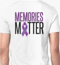 Alzheimer's Awareness Memories Matter T-Shirt