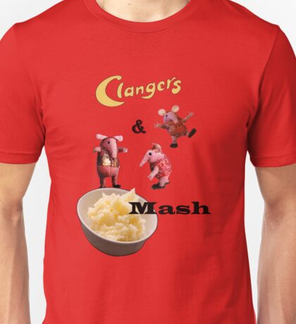 Clanger's and Mash T-shirt