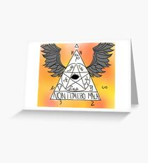 Non Timebo Mala - Supernatural Greeting Card