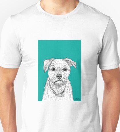 Border Terrier Portrait T-Shirt