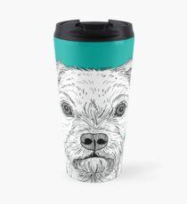 Border Terrier Portrait Travel Mug