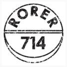 RORER 714 by Tony  Bazidlo