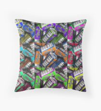 Irn Bru Hues Throw Pillow