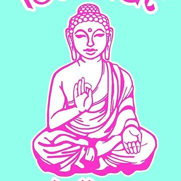 Buddha sagt, dass das Scheiße gehen soll von peakednthe90s