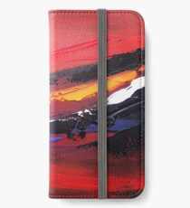 Abstract Sunset iPhone Wallet/Case/Skin