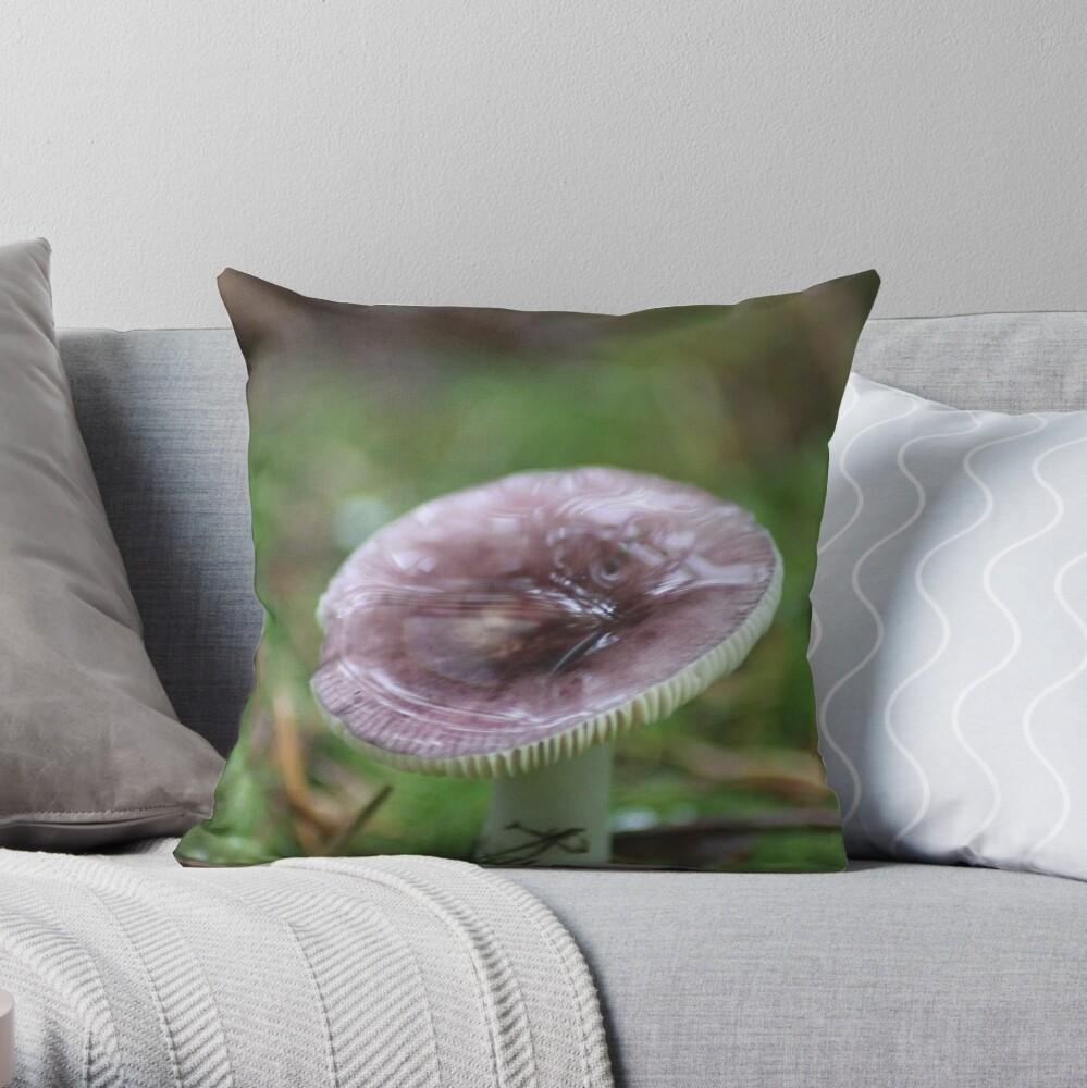 Mushroom Of The Northwest Throw Pillow