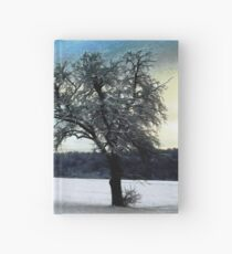 Alone in the cold Hardcover Journal